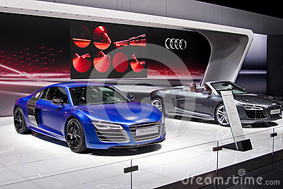 Audi R8 coupe Editorial Photo