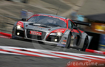 Audi R8(FIA GT=Spa24h) Editorial Stock Image