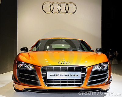 Audi R8 Limited Edition Editorial Stock Photo