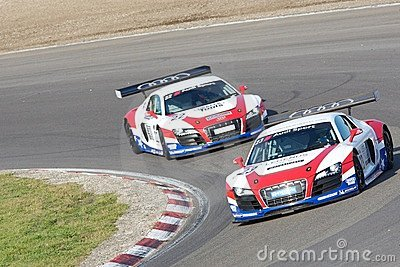 Audi R8 LMS Editorial Stock Photo