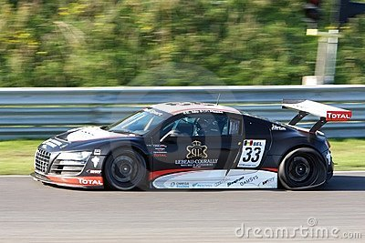 Audi R8 LMS Editorial Photography