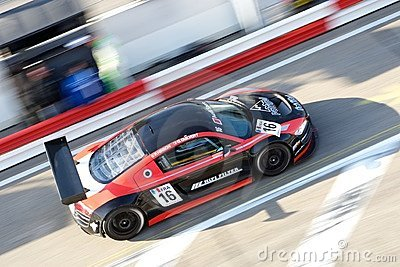 Audi R8 LMS Editorial Image