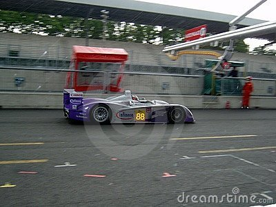 Audi R8 at Monza Editorial Stock Image