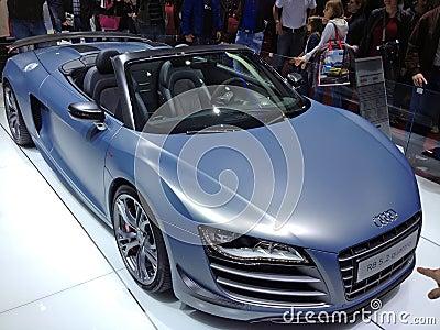Audi R8 Quattro Editorial Stock Photo