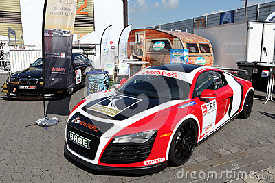 Audi R8 race car Editorial Photography
