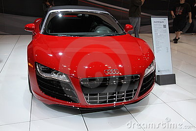 Audi R8 Spyder Editorial Photo