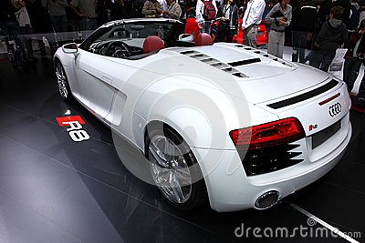 Audi R8 V8 Editorial Stock Photo