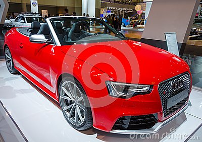 Audi RS 5 Cabriolet Editorial Stock Photo
