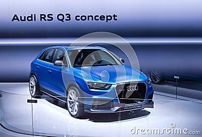 Audi RS Q3 Editorial Photo