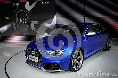 Audi RS5 Coupe on CDMS 2012 Editorial Image