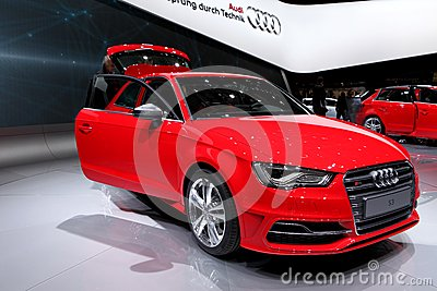 Audi S3 Editorial Stock Image