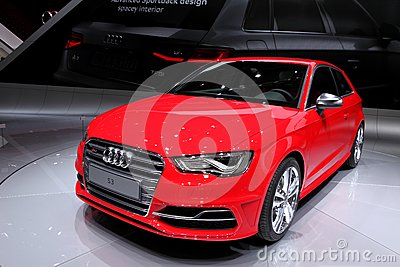 Audi S3 Editorial Photography