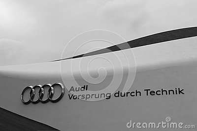 Audi slogan Editorial Photography