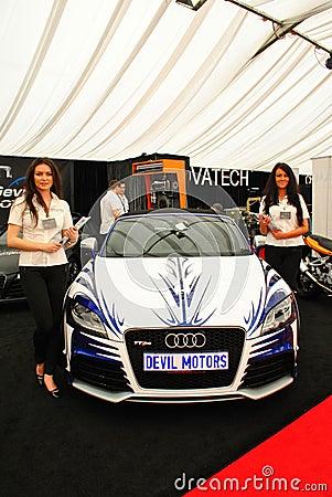 Audi TT Editorial Photo