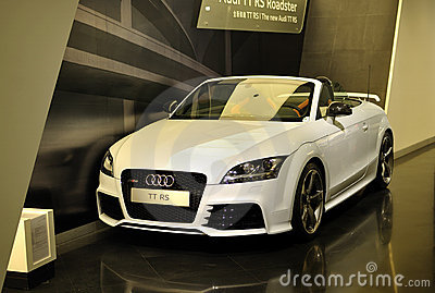 Audi TT rs Editorial Photo