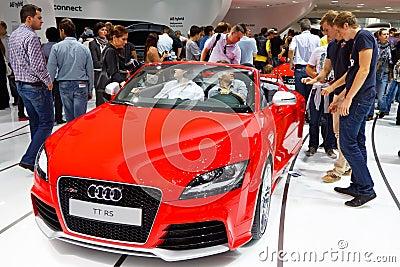 Audi TT RS Editorial Stock Photo