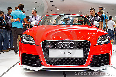 Audi TT RS Editorial Stock Image