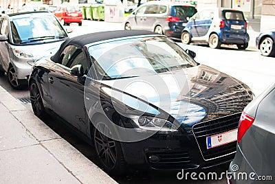 Audi TT on the Street