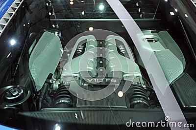 Audi v10 FSI engine Editorial Image