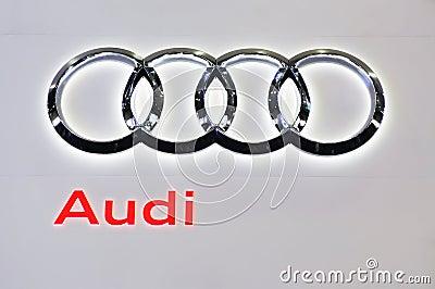 Audi Zeichen Redaktionelles Foto Bild 16281411