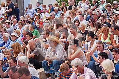 Audience Anticipation Editorial Photo