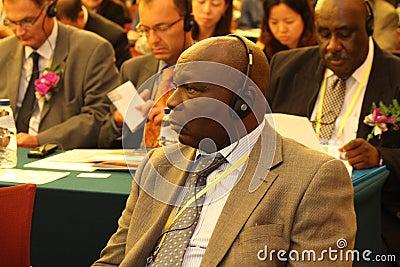Audience of International seminar Editorial Image