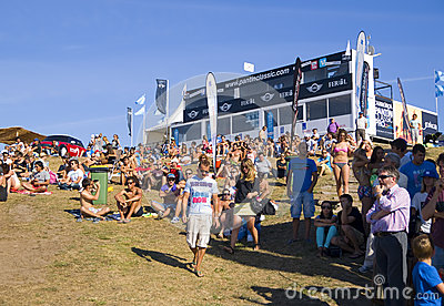 Audience at Pantin Classic 2012 (2) Editorial Image