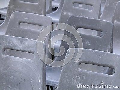 Audience empty seats