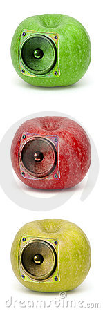 Audio apples