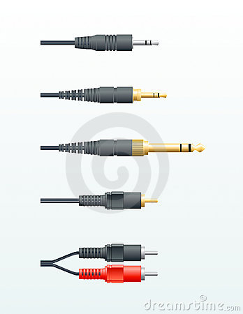 Audio cable plugs