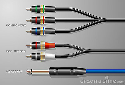 Audio Cables with Plugs