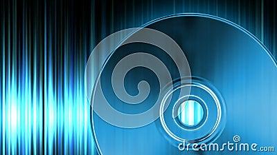 Audio CD video d archivio