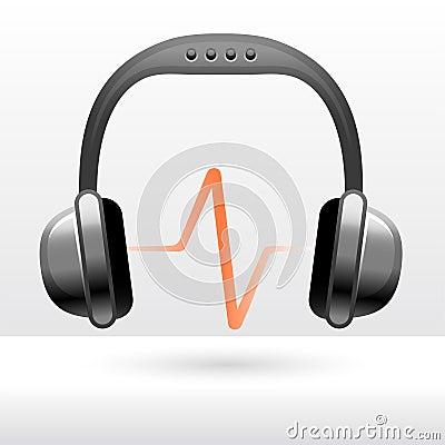 Free Audio Headphones Royalty Free Stock Photo - 12084845
