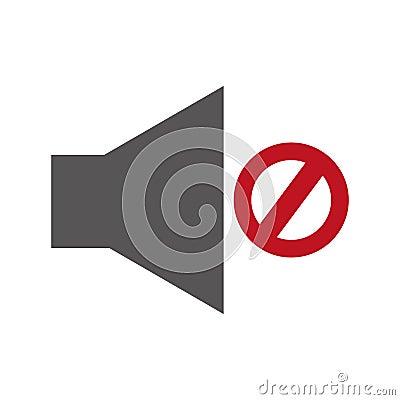 Free Audio Off Menu Button Stock Photos - 91303783
