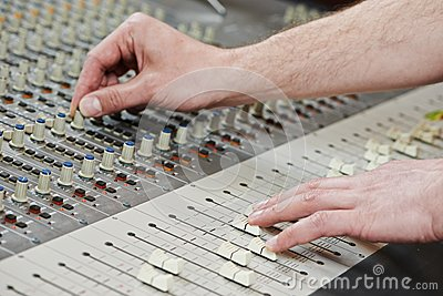 Audio sound mixing