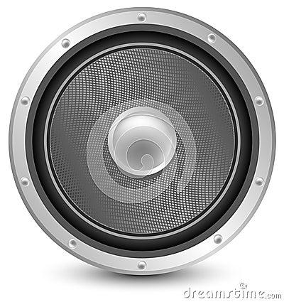 Sound Concept - Macro On Audio Speaker Royalty Free Stock Photos ...