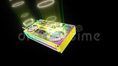Audio-speler Boombox