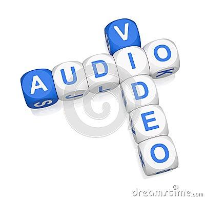 Audio Video 3d crossword