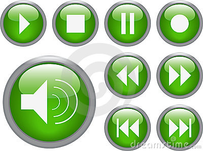 Audio/ video buttons