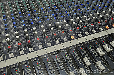 Audio Video Mixing Controller Console
