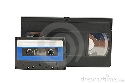 Audiocassette and videocassette