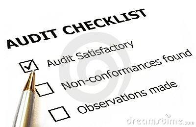 Audit Checklist Royalty Free Stock Photography - Image ...
