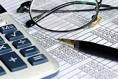 Audit the numbers on the spreadsheet