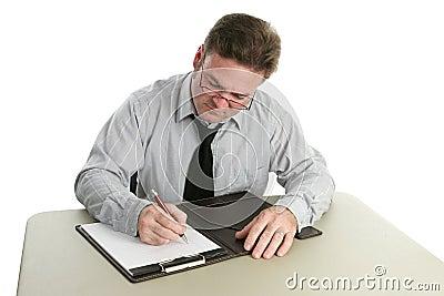 Auditor - Taking Notes