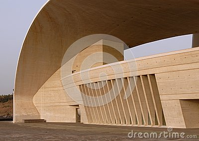 Auditorio de Tenerife - detail Editorial Stock Image