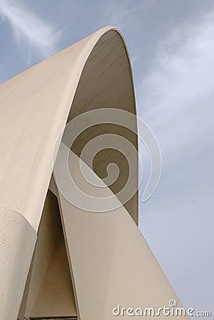 Auditorio de Tenerife - detail Editorial Photography