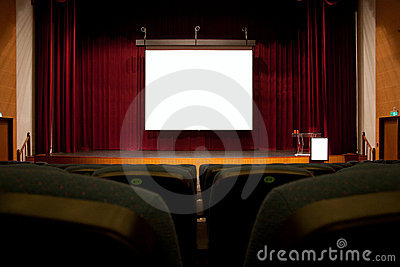 Auditorium screen