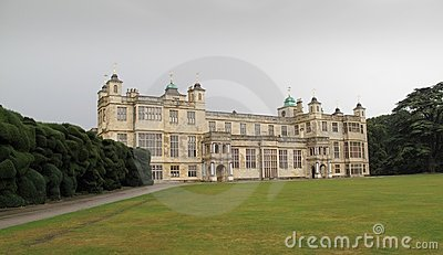 Audley house, Essex, England