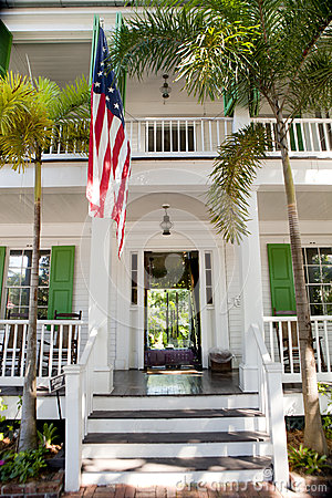 The Audubon House in Key West, Florida Editorial Stock Photo