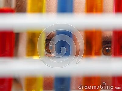 Augen des Forschers